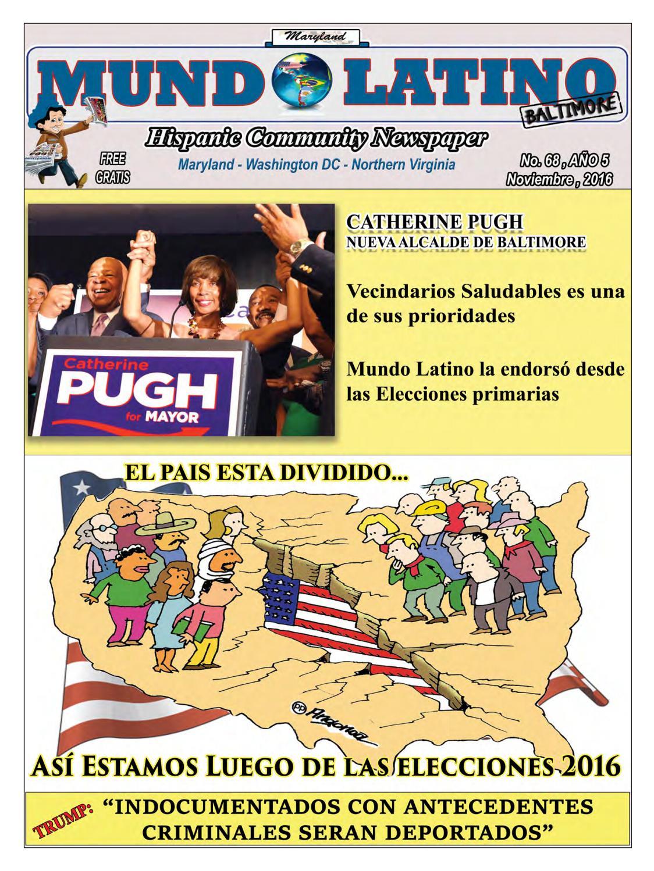 Mundo Latino - Noviembre 2016 by MundoLatinoBaltimore - issuu
