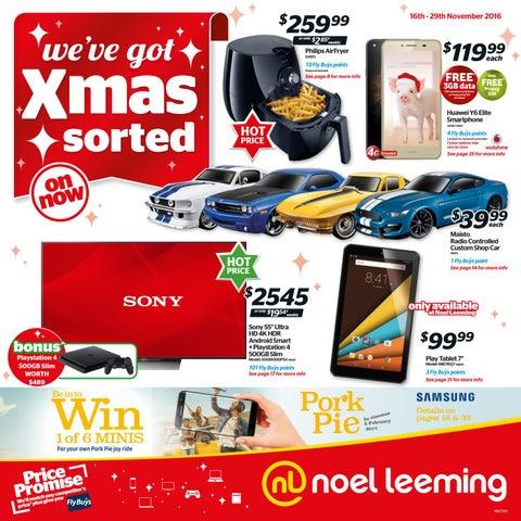 Noel Leeming Weve Got Xmas Sorted Mailer By
