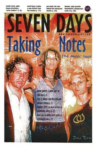 Seven days april 18 2001 by seven days issuu page 1 fandeluxe Gallery