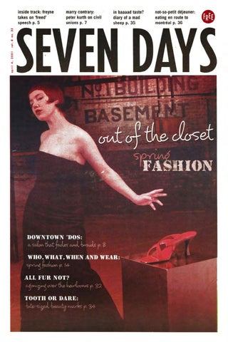 Seven days april 4 2001 by seven days issuu page 1 fandeluxe Choice Image