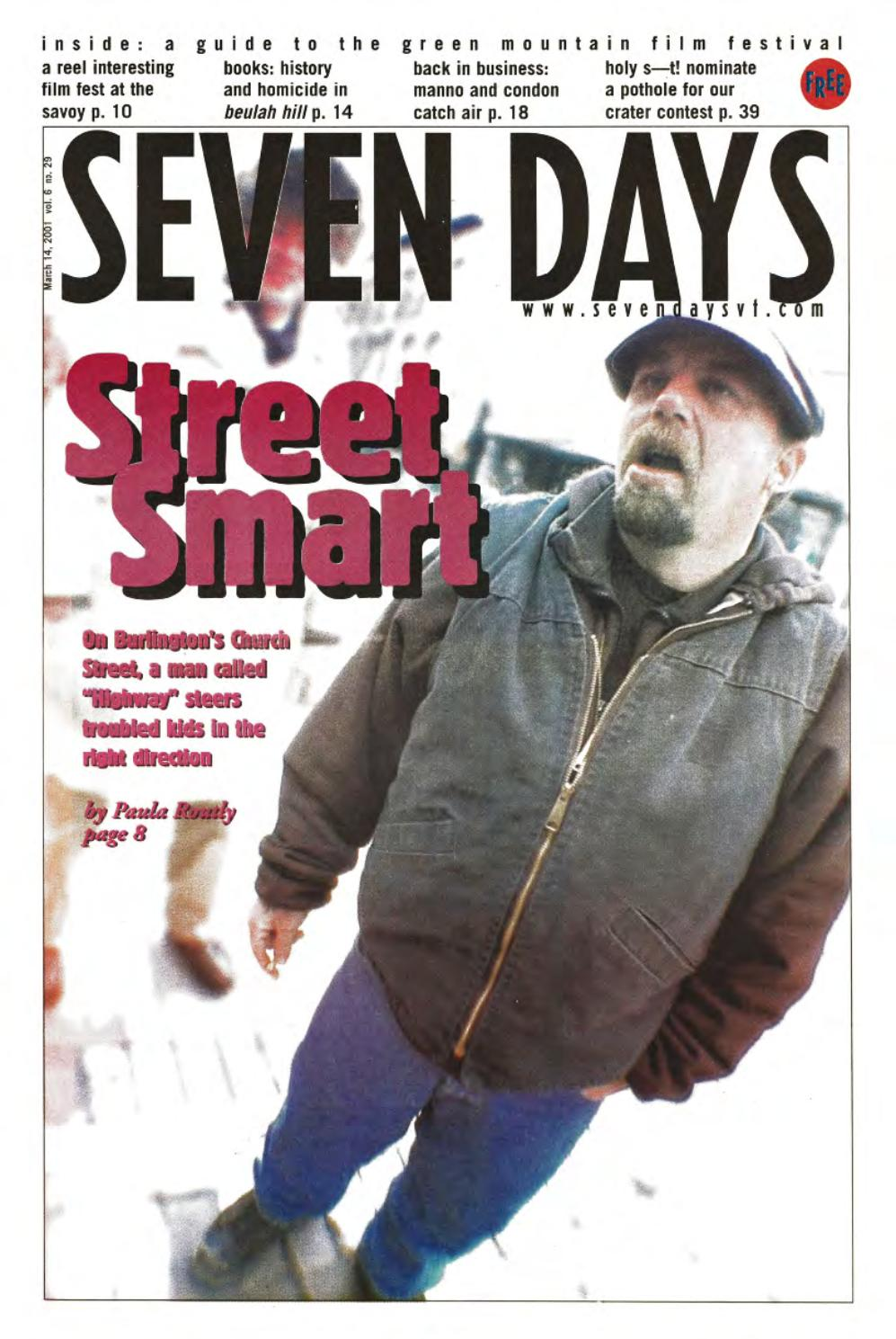Seven Days March 21 2001 By Seven Days Issuu