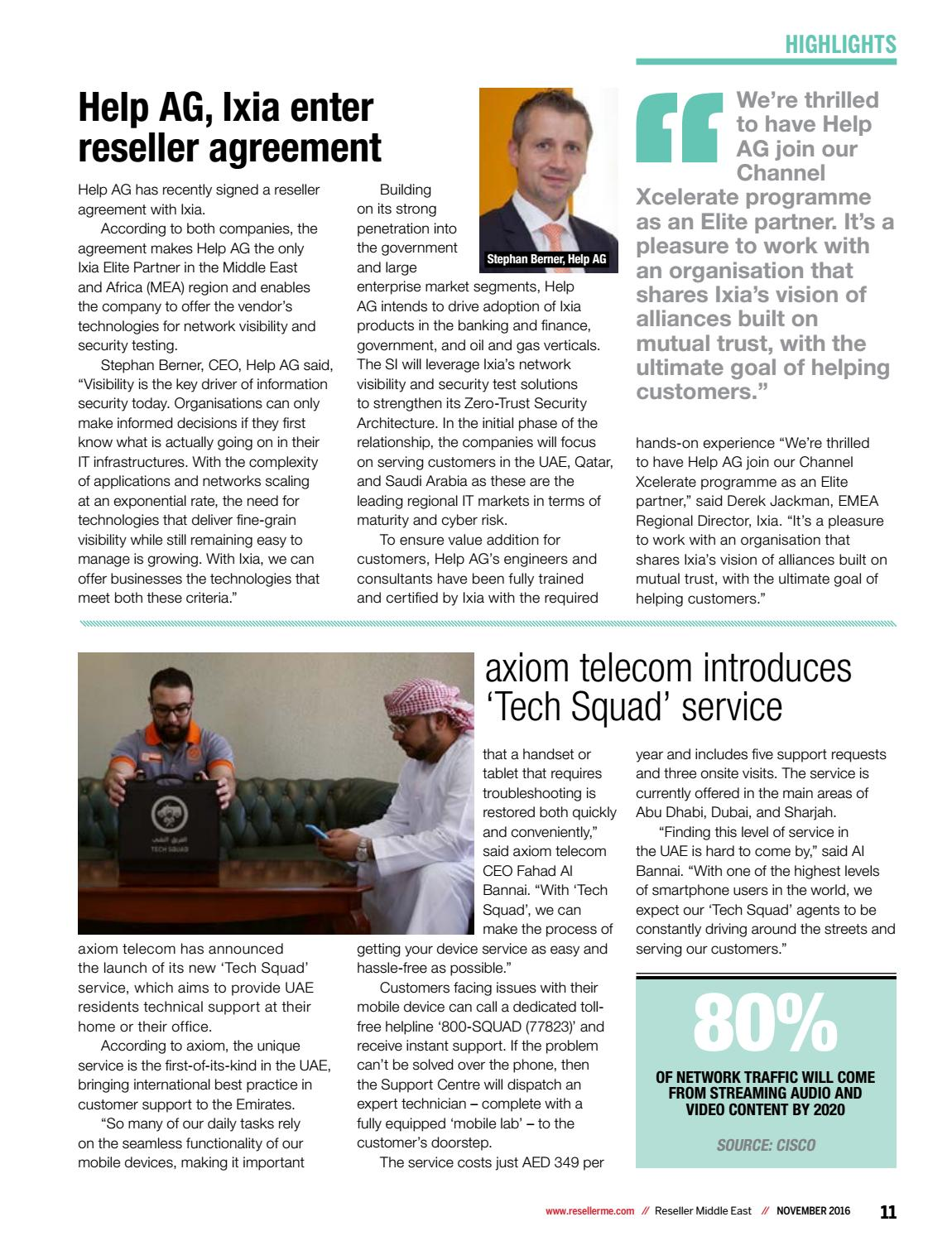 Reseller Middle East November 2016 by Reseller Middle East - issuu