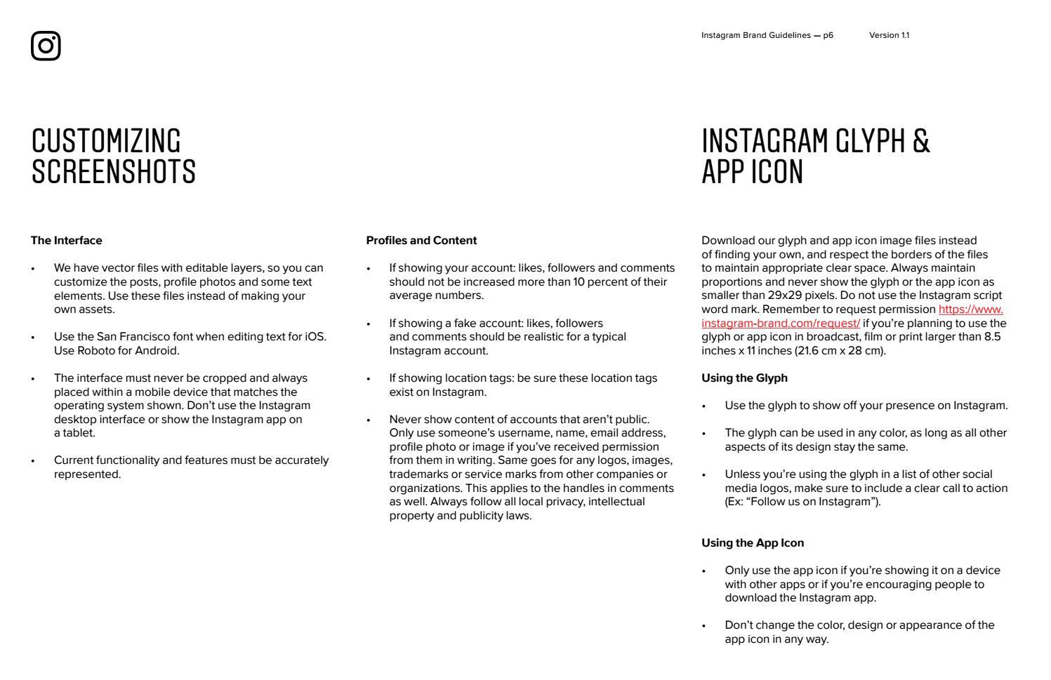 Instagram brand book by Isabel Martínez Gestal - issuu