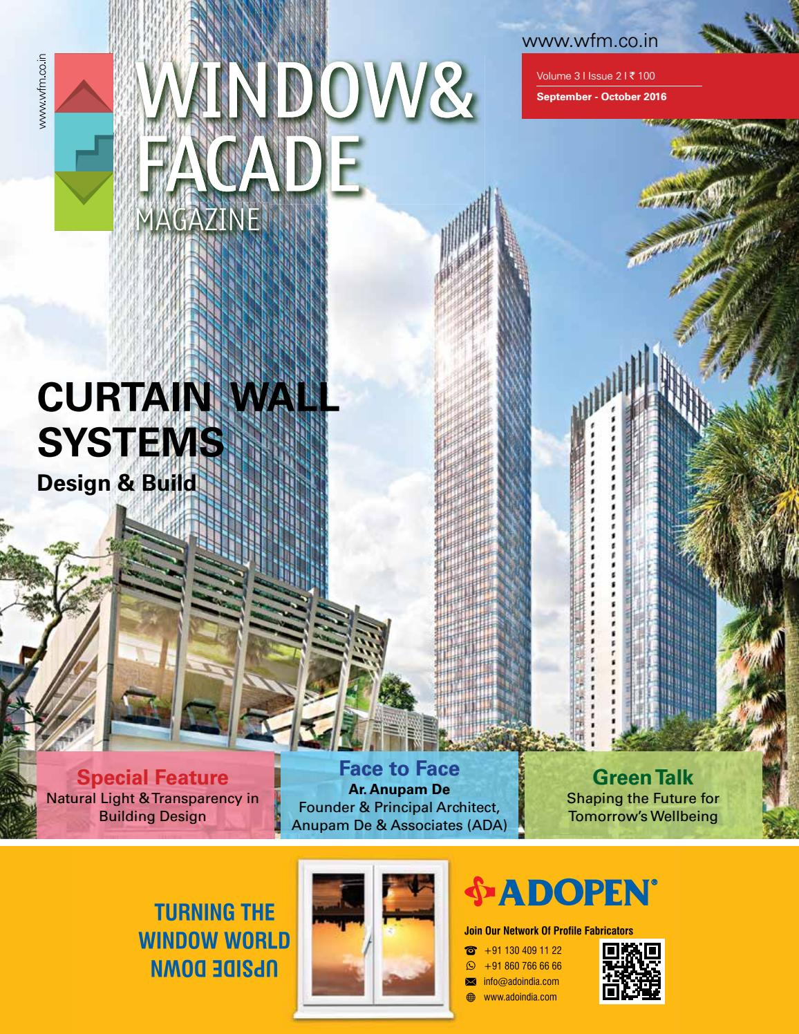 Window Facade Magazine September October 2016 Issue By F Certainty Tape Regular L 10 Free 2 Mitu Travel Pack Media And Publications Issuu