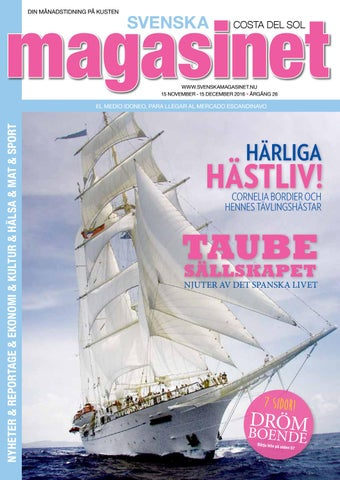 new product 073b0 55bae Nov 2016 by Svenska Magasinet, Spanien - issuu