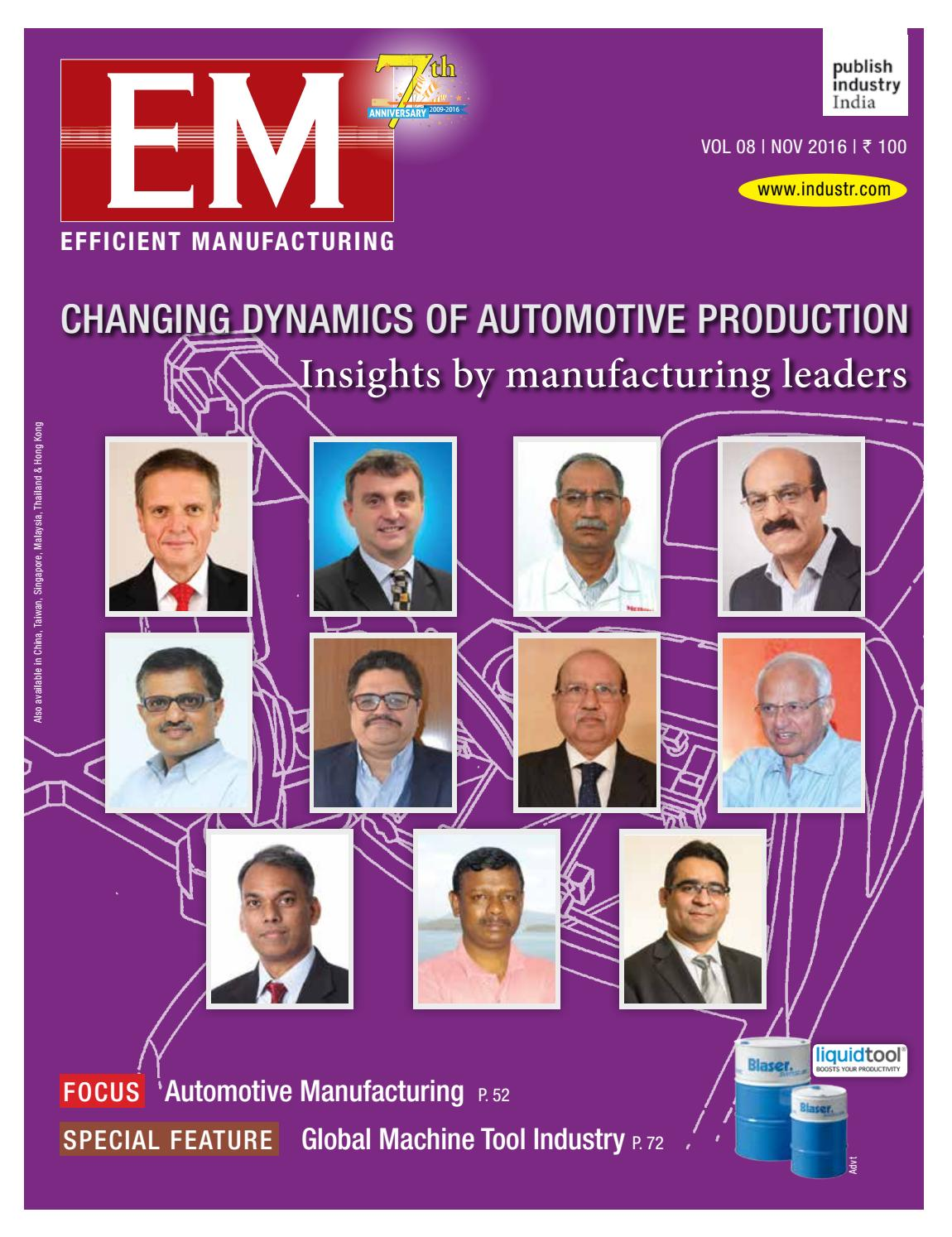 EM Nov 2016 by publish-industry India - issuu