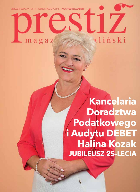 Prestiż Magazyn Koszaliński Wydanie 977 Październik Listopad 2016