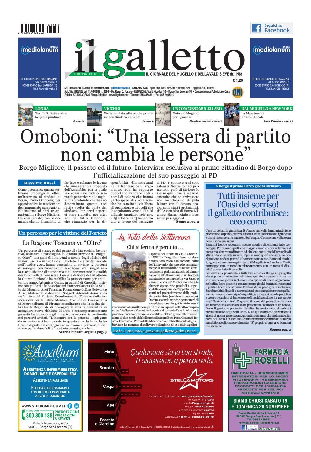 Galletto 1279 Del 12 Novembre By Il Galletto Giornale Issuu