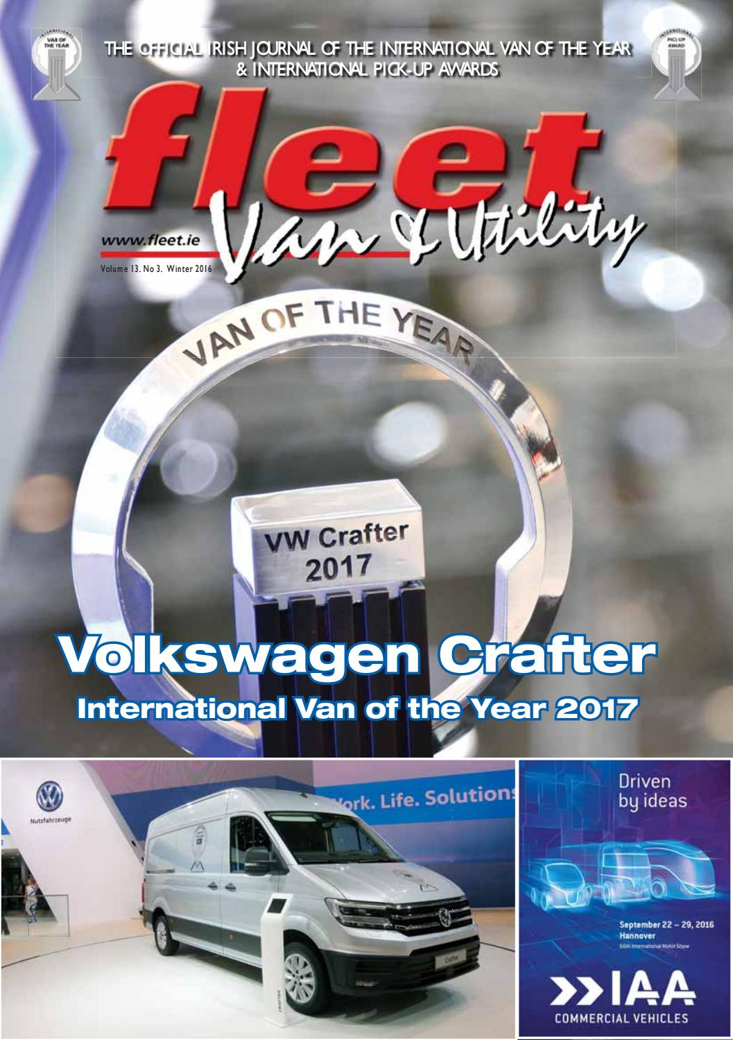 Fleet van and utility winter 2016 by Fleet Transport - issuu