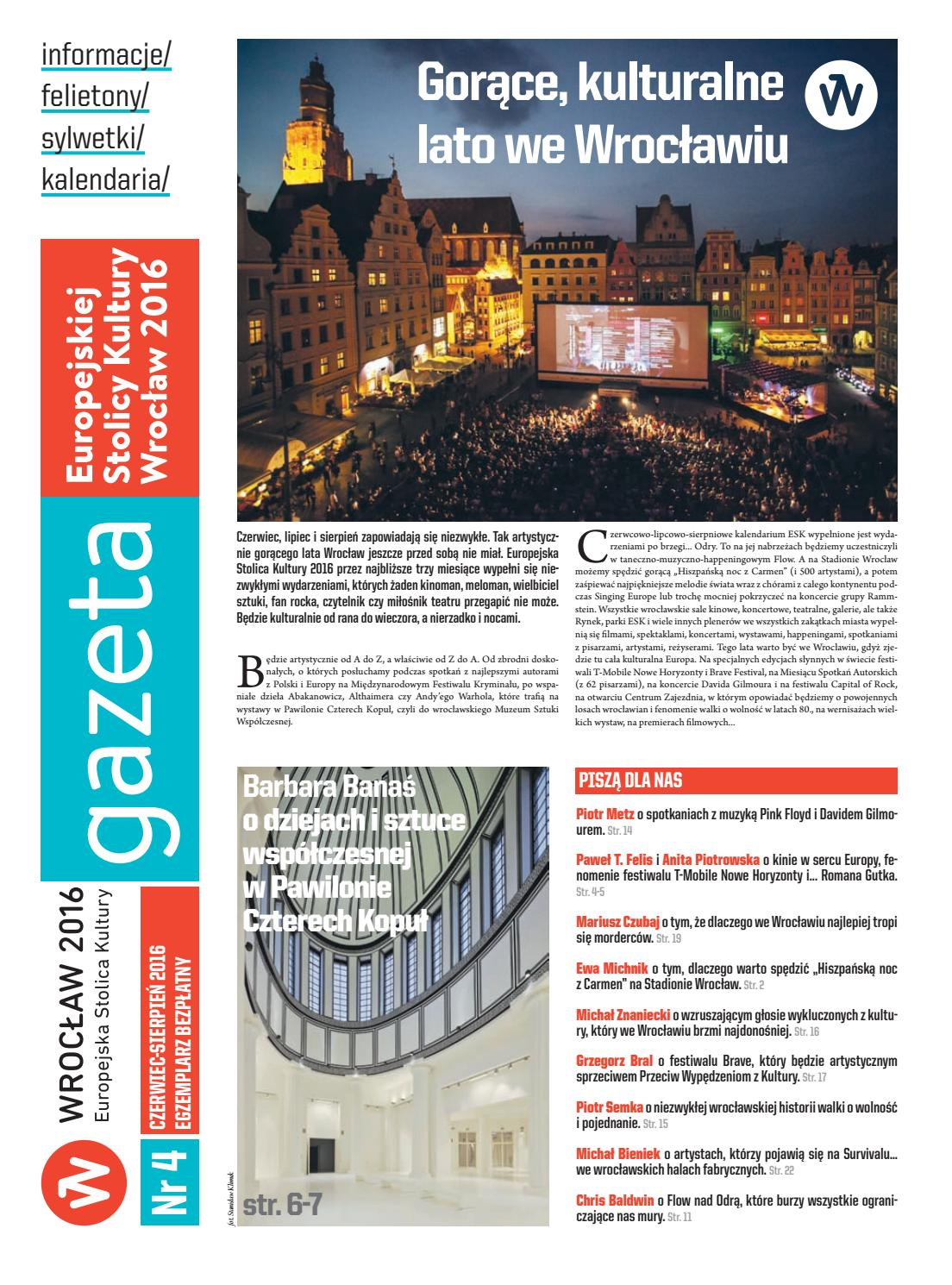 Gazeta ESK nr 4 by Wrocław 2016 - issuu
