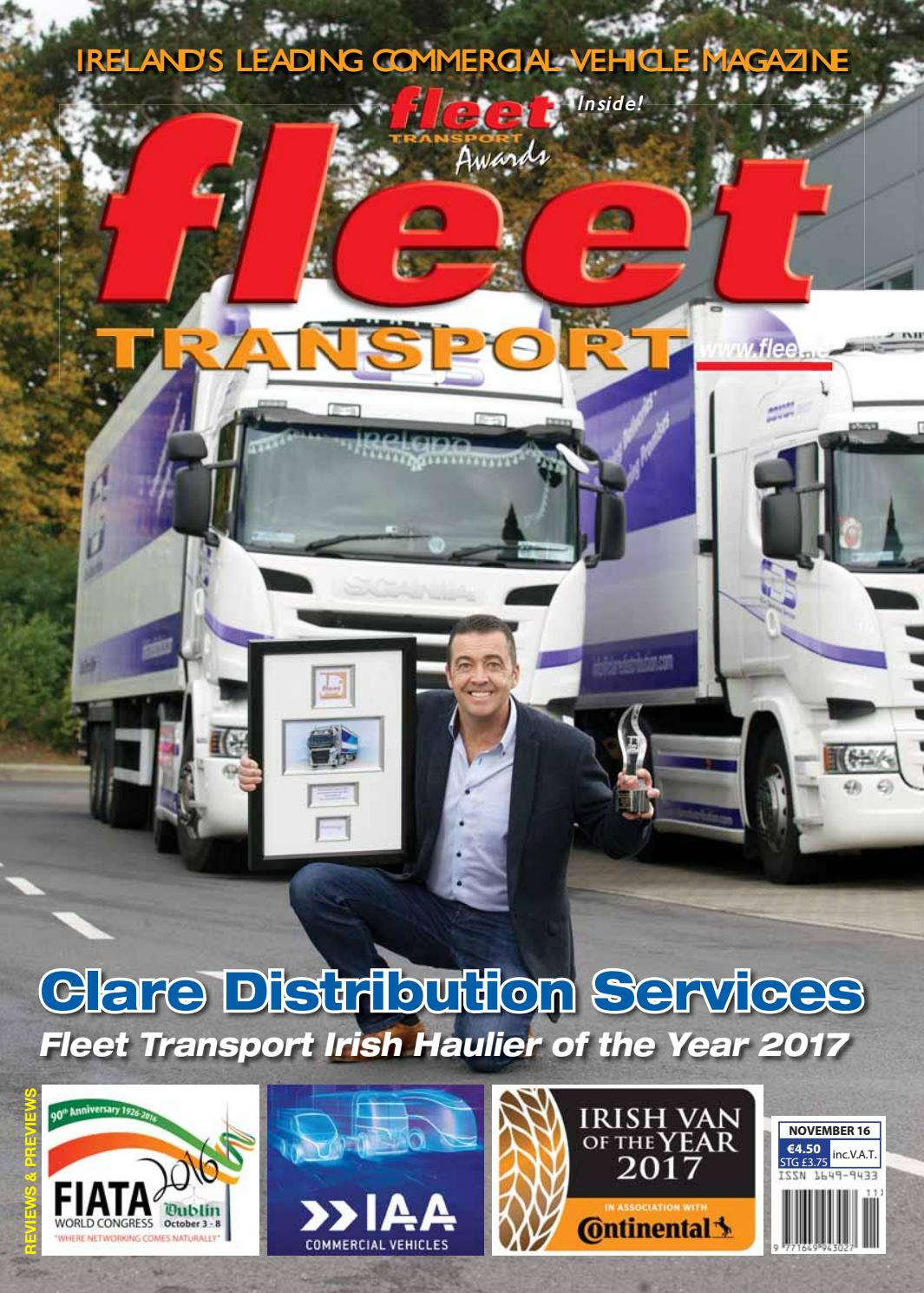 Fleet Transport Nov 16 By Fleet Transport Issuu