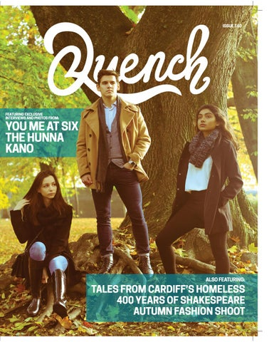 43b9b725c08 Quench Issue 160 by Cardiff Student Media - issuu