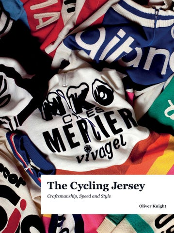 The Cycling Jersey  by Oliver Knight - Available to Buy Now by ... 69e35e836