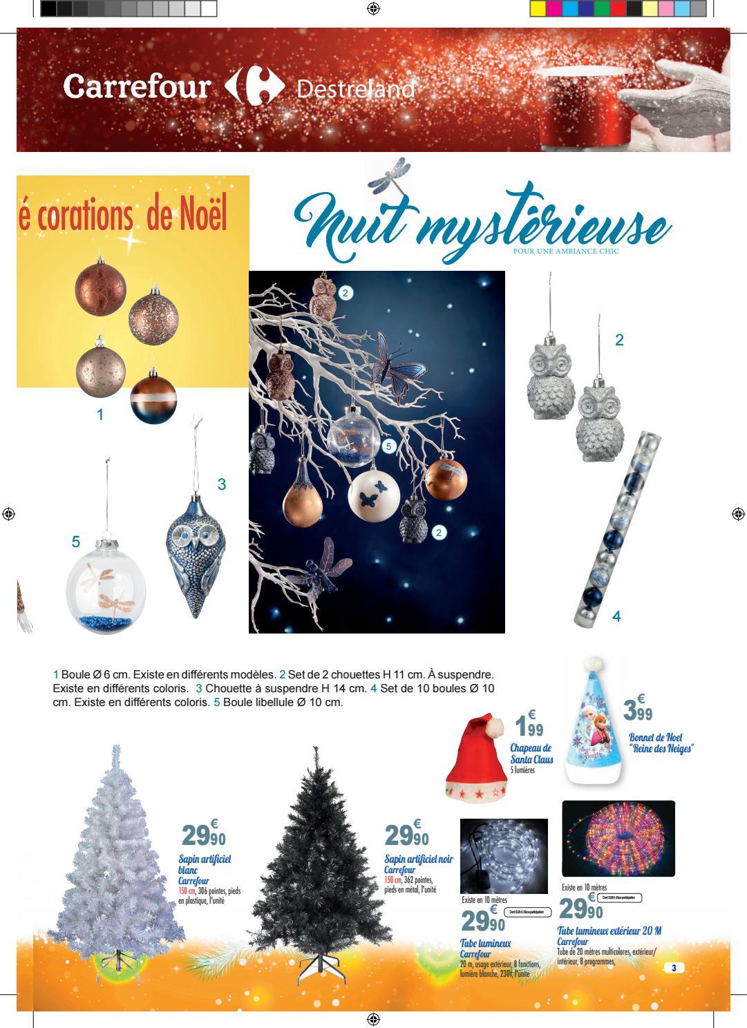 Carrefour Destreland Joyeux Noël Du 08 Novembre Au 04