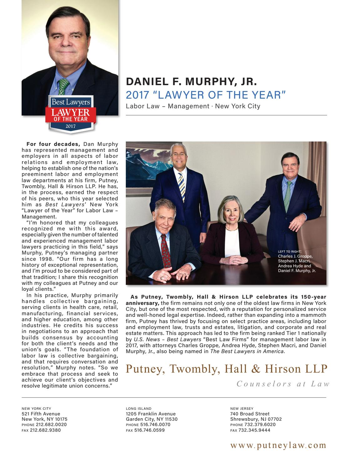 Best Lawyers in the New York Area by Best Lawyers - issuu