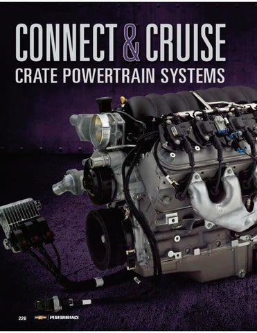 Connect cruise crate powertrain systems chevrolet performance page 1 sciox Gallery