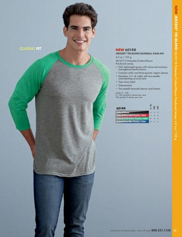 a674fc525c2 2017 JERZEES® Activewear Catalog. Manufacturer of quality t-shirts ...