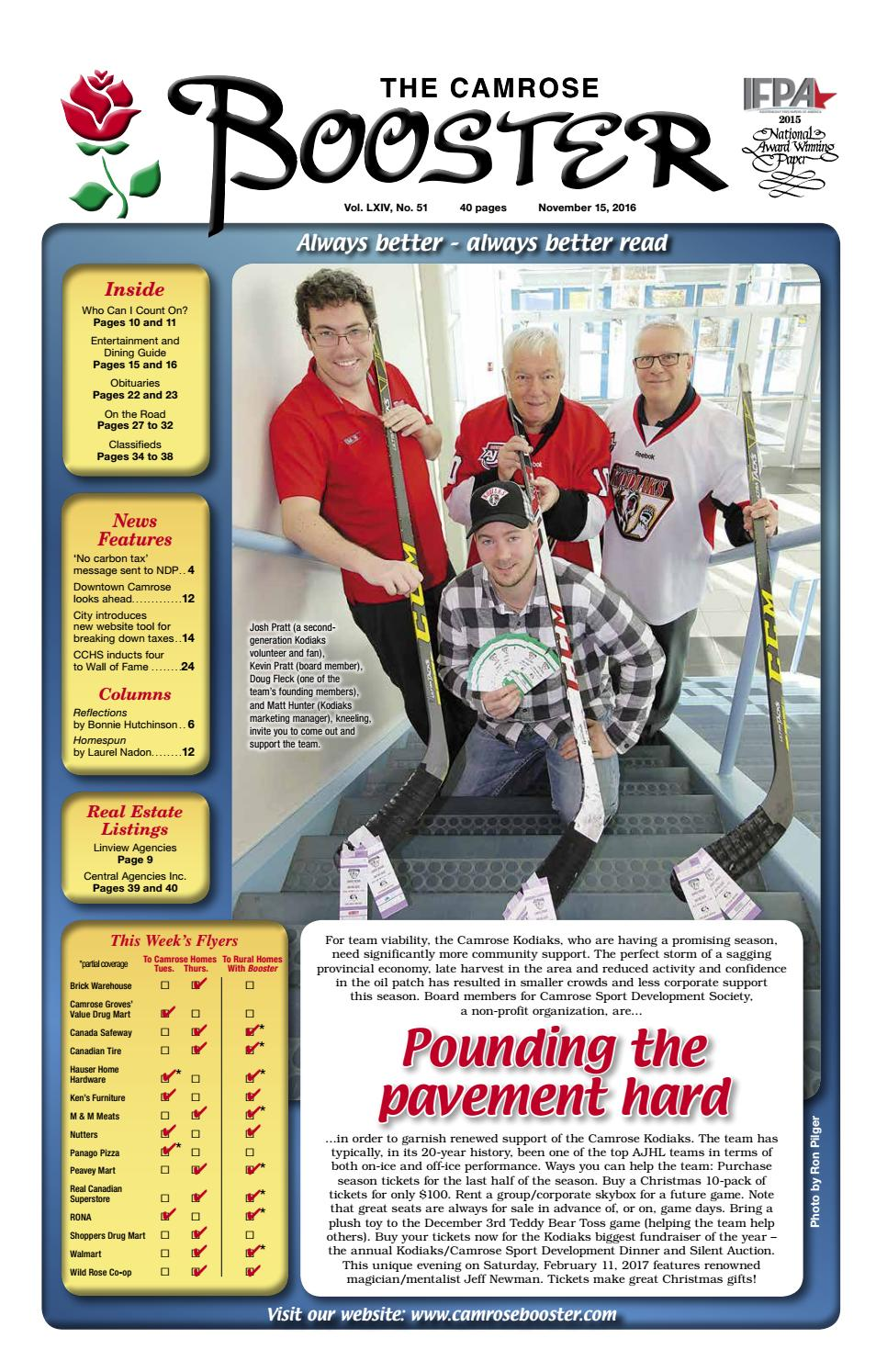 November 15 2016 camrose booster by the camrose booster issuu publicscrutiny Image collections