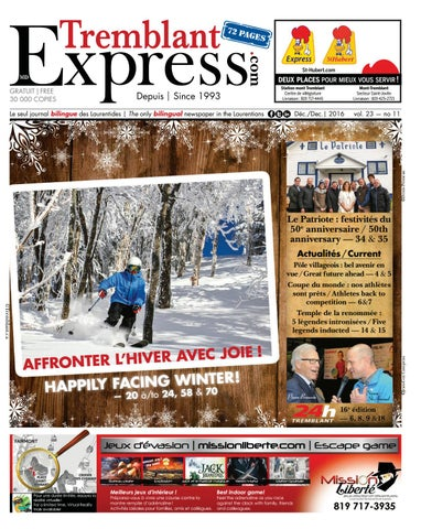 2016 12 tremblant express by Tremblant Express - issuu c6b86a6f6c70