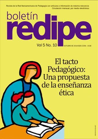 efb1d544d6 Boletín Virtual REDIPE Vol 5 No. 10 Desde Cali, Colombia, Octubre de 2016 -  ISSN 2256-1536 boredipe@rediberoamericanadepedagogia.com ...