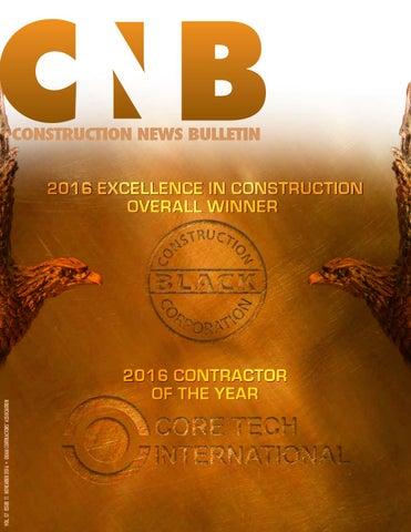 GCA Construction News Bulletin November 2016Guam Contractors' Assn