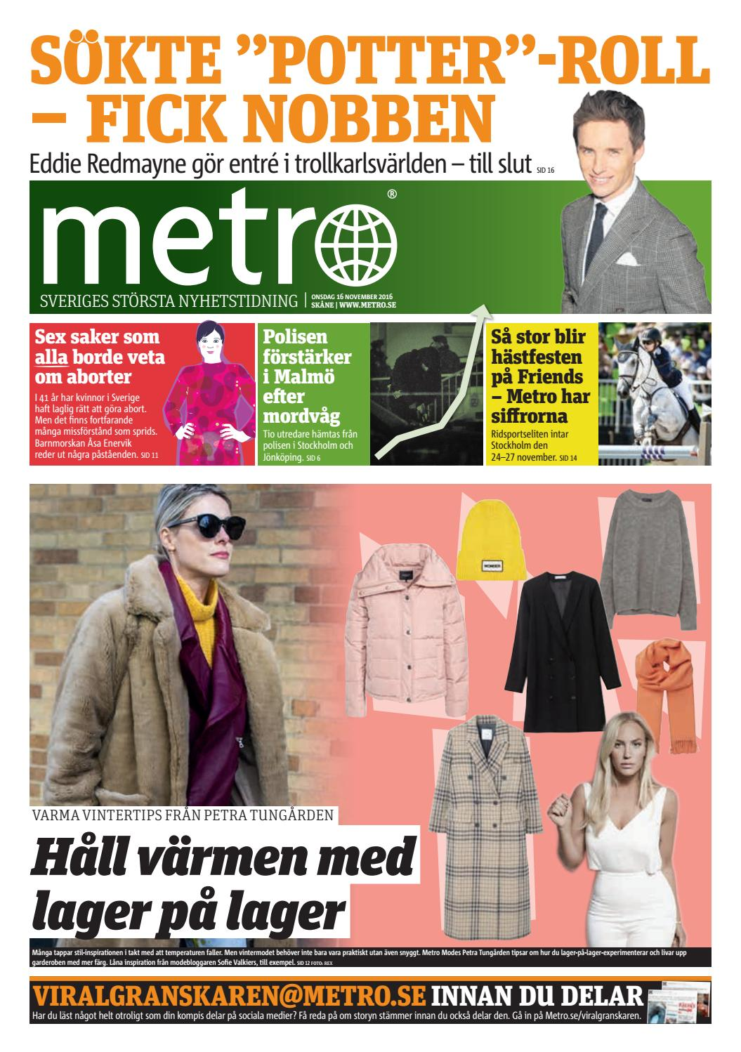 ef3fd8d39701 20161116_se_malmo by Metro Sweden - issuu