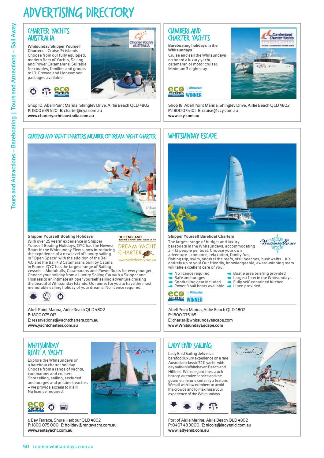 Whitsunday guide 2017 by Vink Publishing - issuu