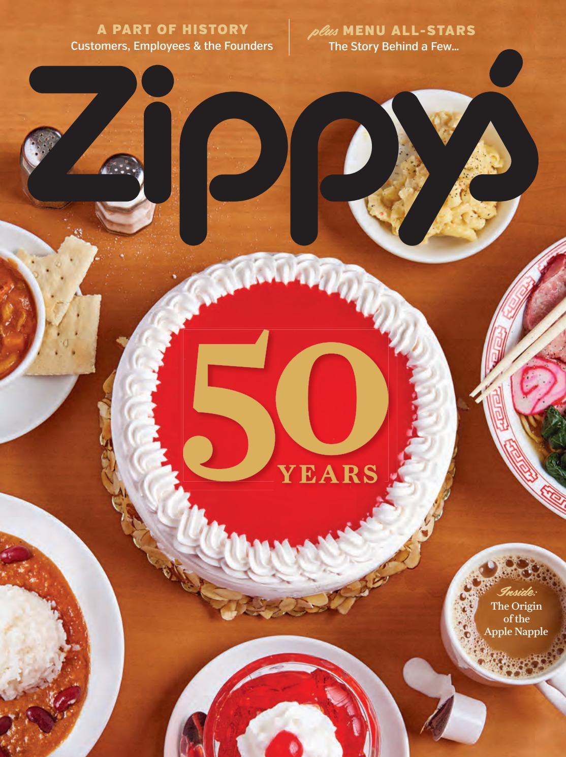 Zippys 50th Anniversary By John Rosales Issuu