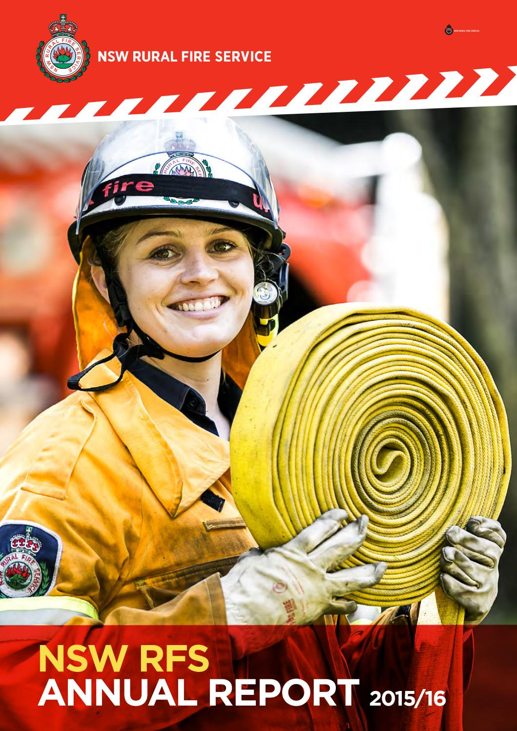 Complete Nsw Rfs Annual Report 2015 16 By Nsw Rural Fire