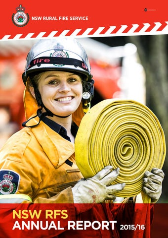 Complete nsw rfs annual report 2015 16 by NSW Rural Fire ...