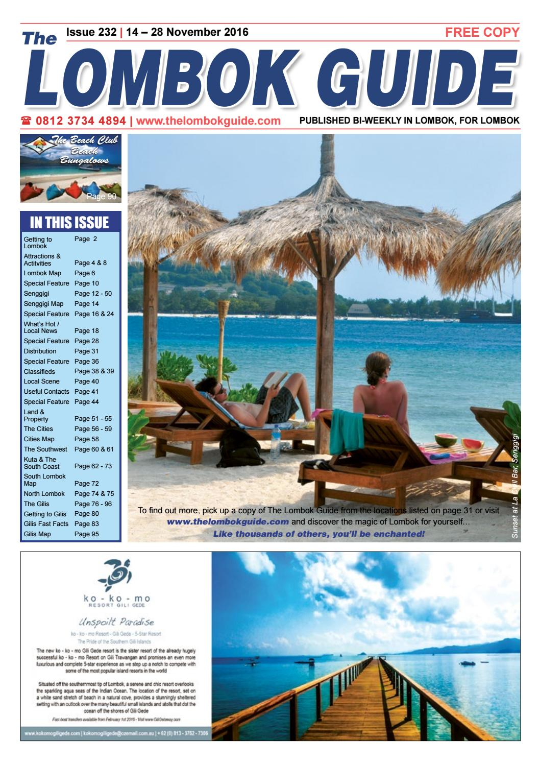 The Lombok Guide Issue 232 by The Lombok Guide - issuu
