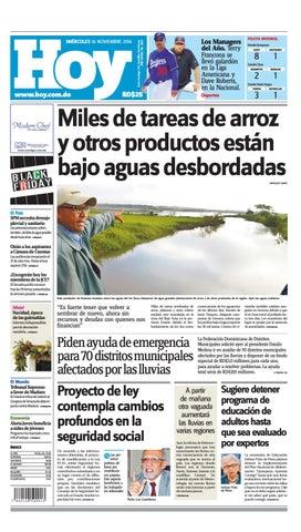 Periodico 16 de noviembre 2016 by Periodico Hoy - issuu
