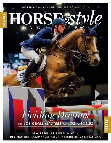 e459f1f4b59 Horse   Style Magazine January February 2017 by Horse   Style ...