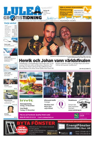 new product 4ae9a 6ec2d Luleå Gratistidning med Team Sportia bilaga