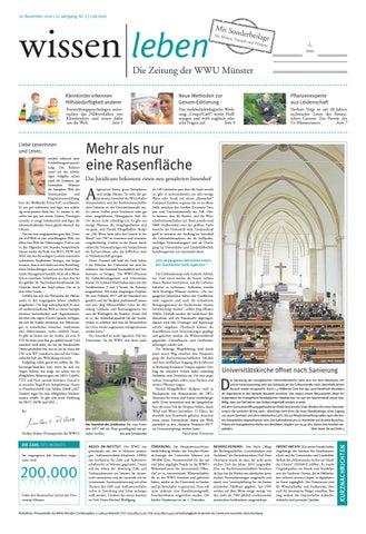 Wissen Leben Nr 7 2016 By Westfalische Wilhelms Universitat Munster