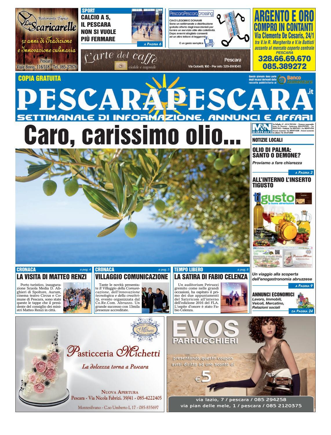 Pescarapescara N 43 Del 16 11 16 By Pescarapescara Issuu