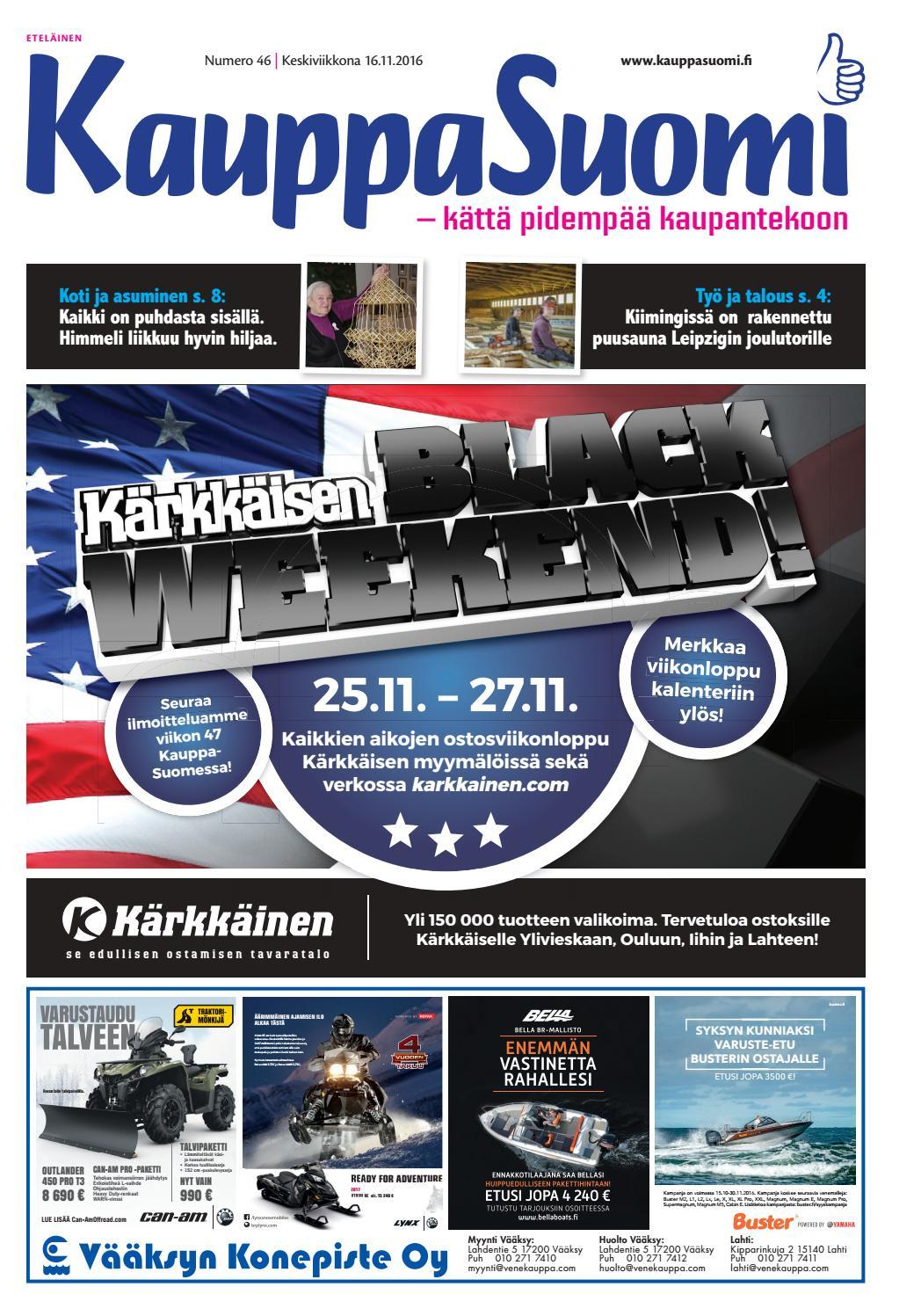 KauppaSuomi 46 2016 (E) by KauppaSuomi - issuu 561ce3a1a3