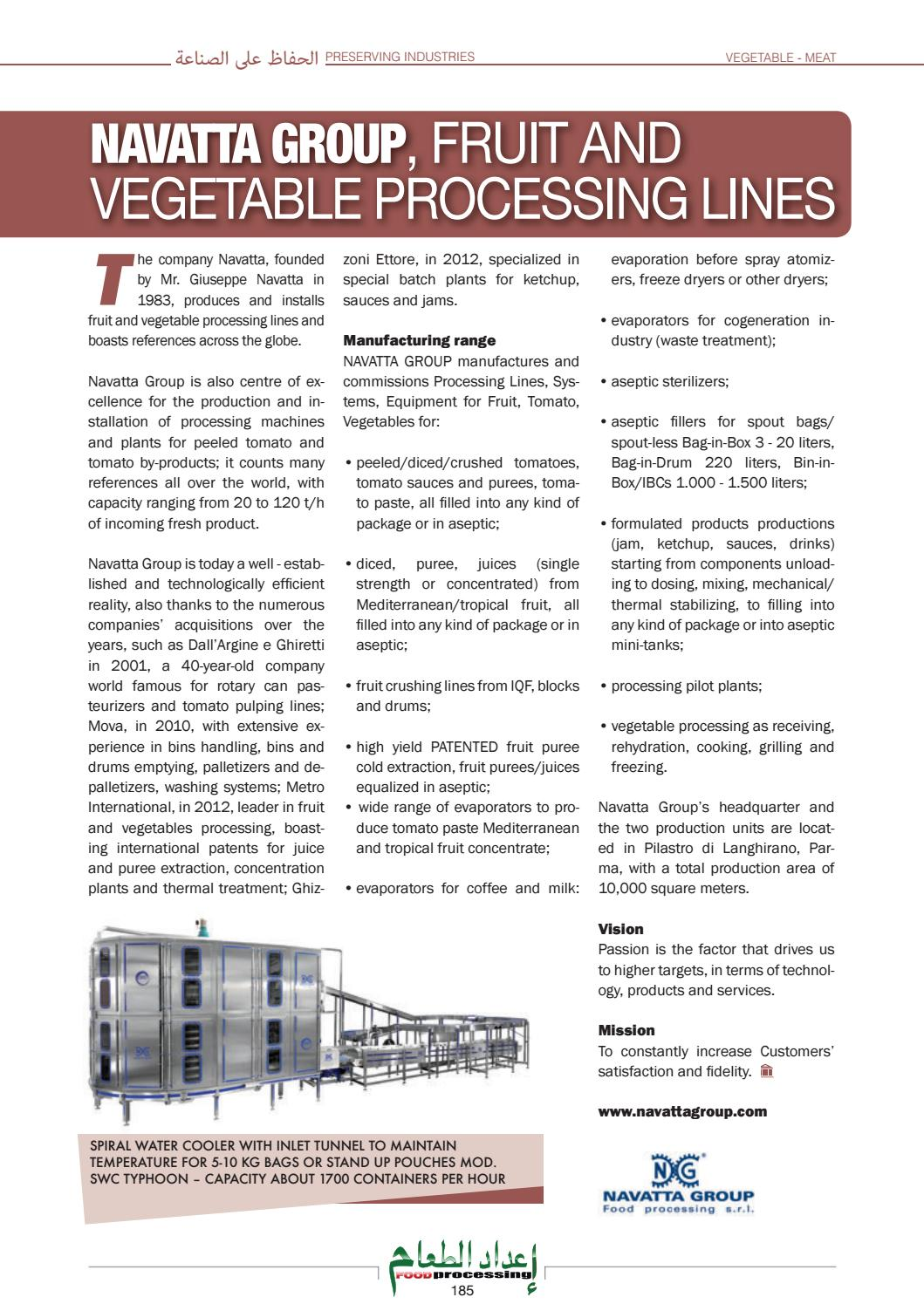 FOOD PROCESSING (Arabic and English issue) - 2016 - October