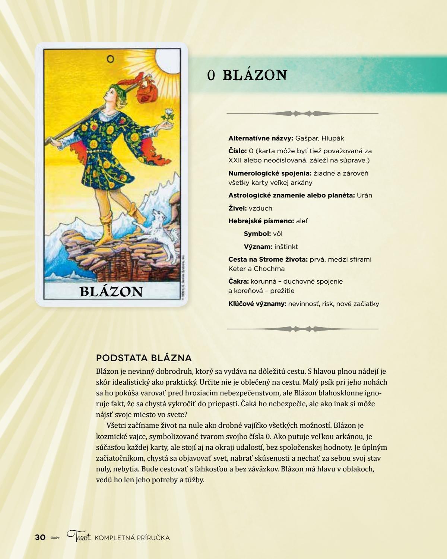 Tarot Liz Dean Ukazka By Vydavateľstvo Slovart Issuu