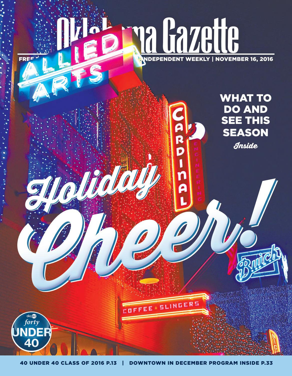Holiday cheer by Oklahoma Gazette - issuu