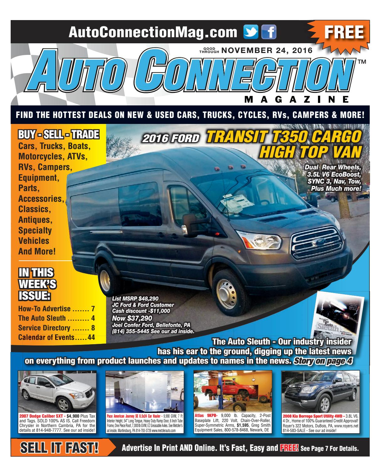 11 24 16 Auto Connection Magazine By Issuu 1999 Crv Lx2wd 5 Door 4at At Transmission Housing 2wd Diagram