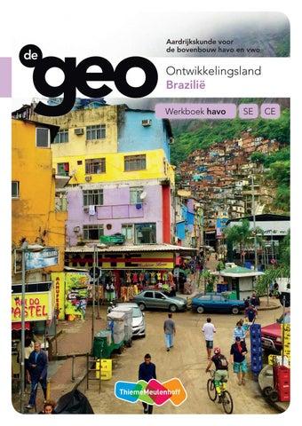 De Geo / Wereld arm en rijk Havo tweede fase / deel leeropdrachtenboek