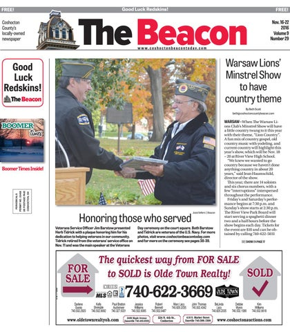 November 16 2016 Coshocton County Beacon By The Coshocton County