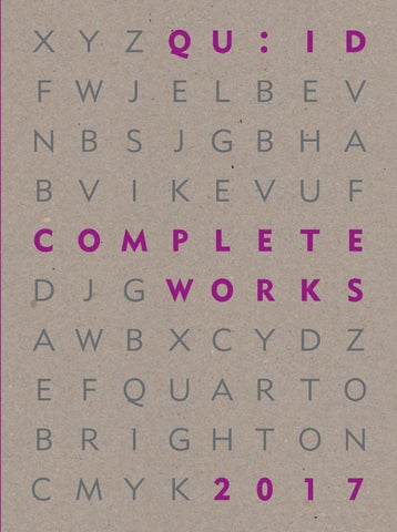 3b8a358e2a6 Quid complete works 2017 by Quarto Publishing Group - issuu