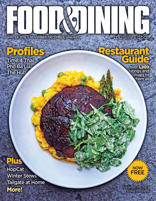 Winter 2016 (Vol. 54) by Food   Dining Magazine - issuu 55a27a52f9a9