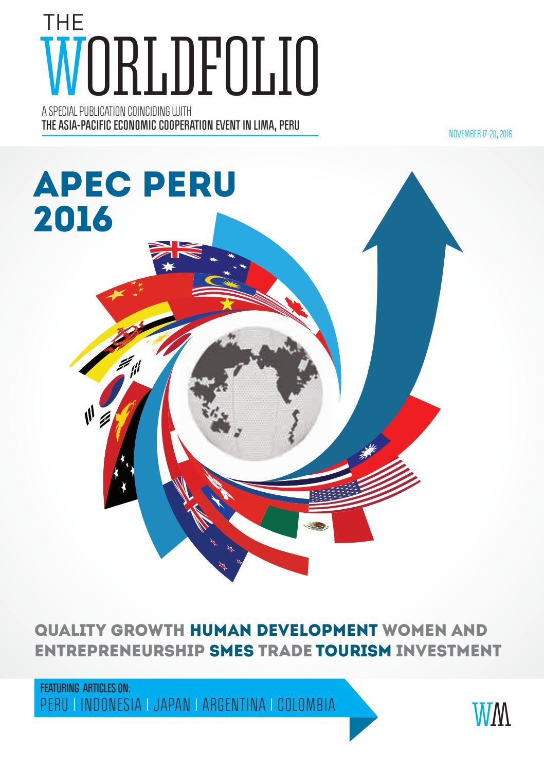 apec peru 2016 by the worldfolio issuu
