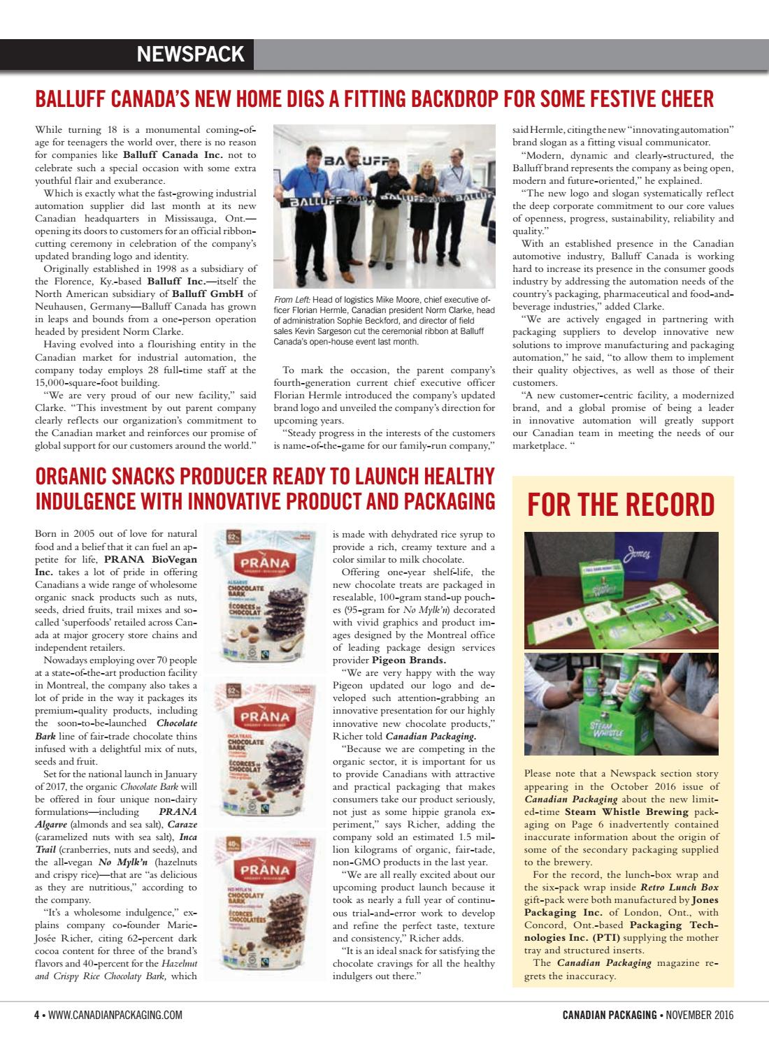 Canadian Packaging November 2016 by Annex Business Media - issuu