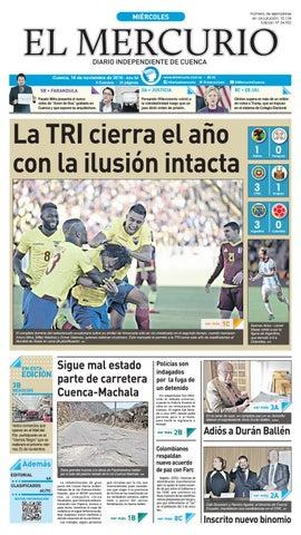 hemeroteca 16-11-2016 by Diario El Mercurio Cuenca - issuu 6ab6552ce18