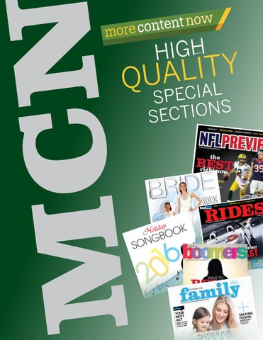 370f7cf4b192 MCN special sections look book by More Content Now / GateHouse Media ...