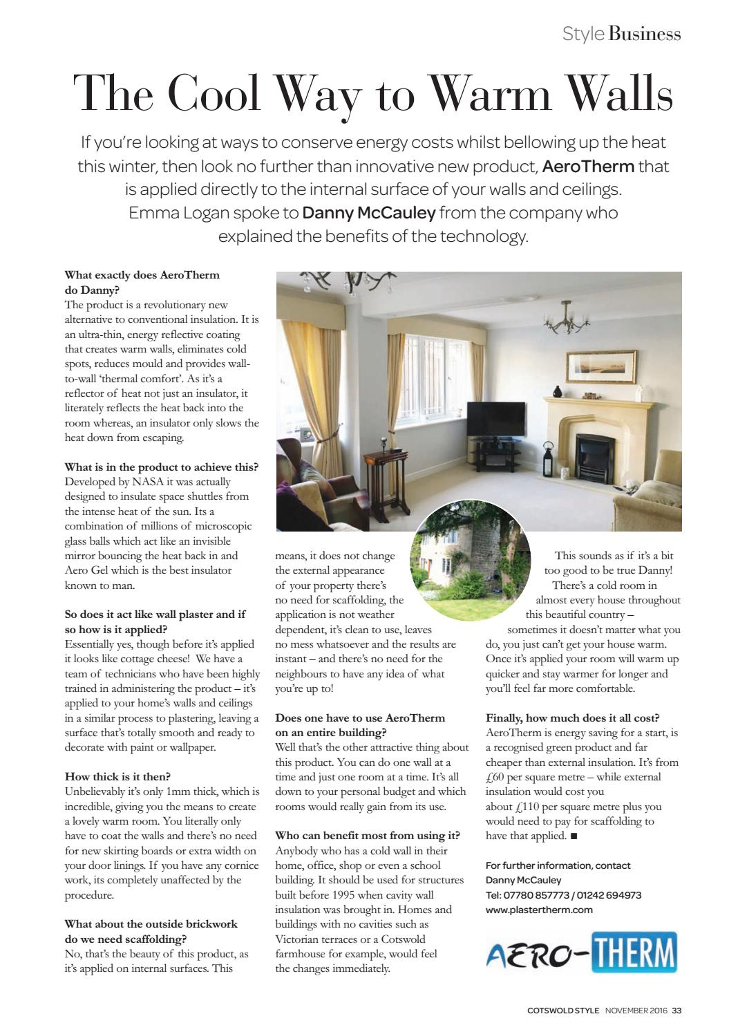 Cotswold Style November 2016 by Cotswold Style Ltd - issuu